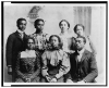 Studenti universitari afro-americani, 1899, Library of Congress